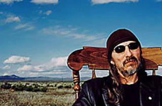 GO REST, YOUNG MAN Activist, actor and poet Trudell takes a breather.