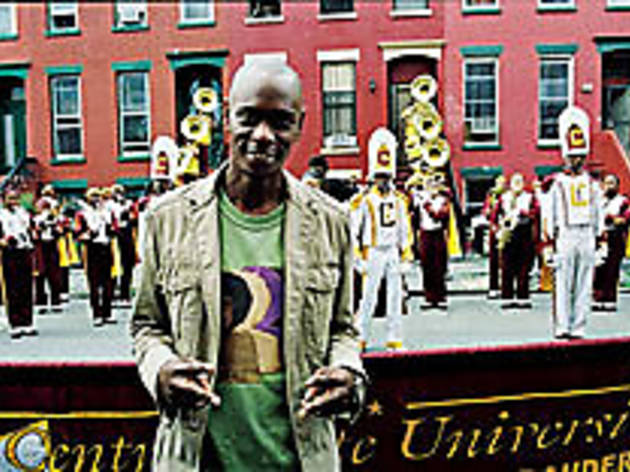 HE LOVES A PARADE Chappelle knows it's not a party unless there's a marching band.
