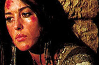 WHAT IF GOD WAS ONE OF US? Monica Bellucci ponders the divine.