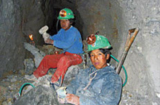 HELL IS FOR CHILDREN The Vargas brothers burrow deep into Cerro Rico.