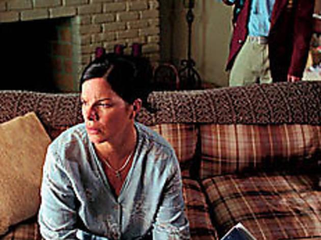 PISTOL LACKIN' MAMA Harden fears for the future.