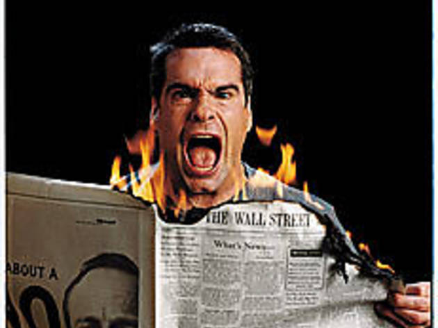 HOT OFF THE PRESS The media establishment fans Rollins' flame.