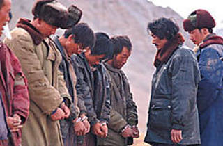 FREE TIBET Several busted poachers await sentencing from the head vigilante.