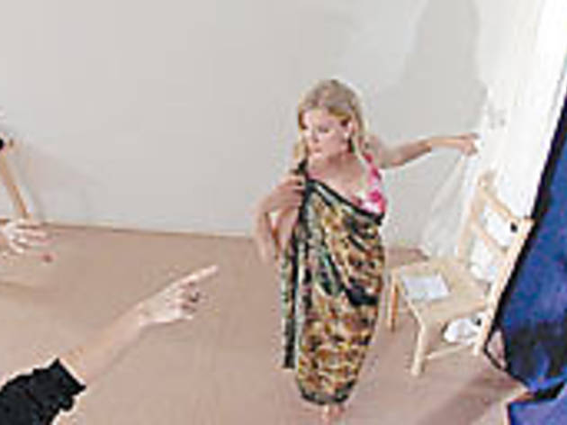 PERFORMANCE ANXIETY It's not nice to point at actresses.
