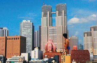 TOKYO STINKY Matsumoto takes on a giant flatulent monster.