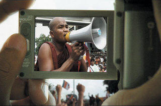 (TRANS)MISSION OF BURMA An undercover reporter captures a local monk inciting the masses.