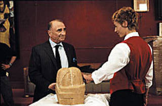 FRENCH CHEESE De France, right, is ready to serve.