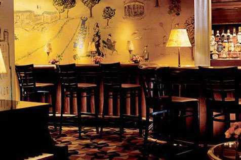 Listen to jazz at Bemelmans Bar at the Carlyle Hotel
