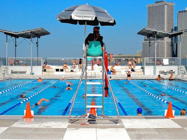 Inground Pools With Waterslides all the outdoor swimming pools nyc has open to the public