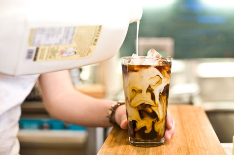 Score free iced coffee for the next two weeks from Joe Coffee x Robert Clergerie
