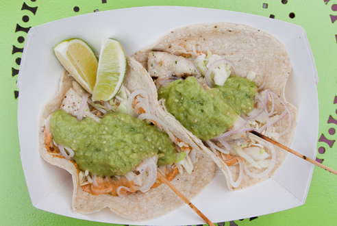 Pescado A Las Brasas taco at La EsquinaLa Esquina's sit-down caf and takeout taqueria offer a number of dependable bites, but we particularly like...