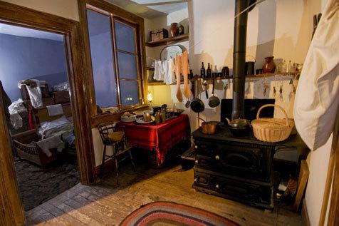 Tenement Museum. Photograph by Keiko Niwa