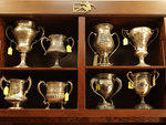 IAAC trophies at the American Irish Historical Society