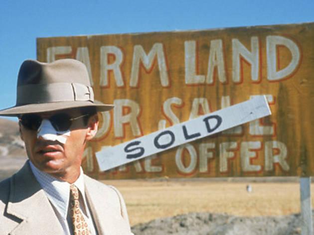 GETTING NOSY Jack Nicholson smells a scam.