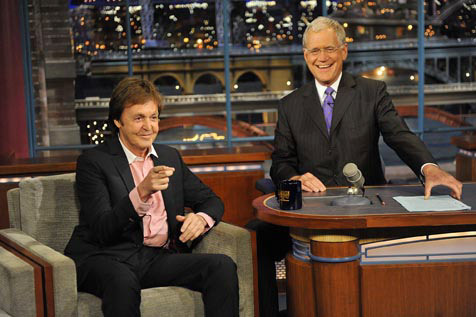 Attend a live taping of Late Show with David Letterman