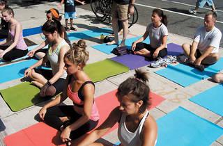 National Yoga Month: Lululemon at Prospect Park