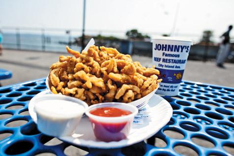 Try seafood on City Island