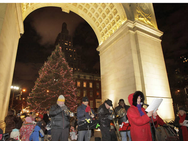 The best Christmas caroling opportunities in NYC