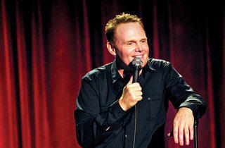 Bill Burr (Photograph: Amy Tragethon)