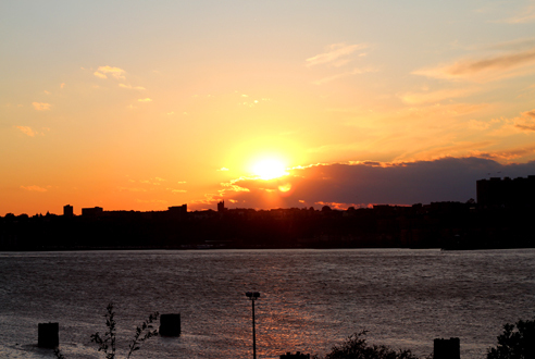 Sunset from Riverside Park