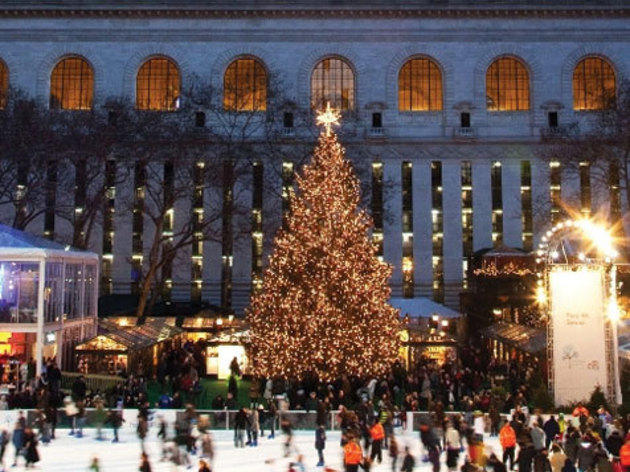 Bryant Park Tree Lighting