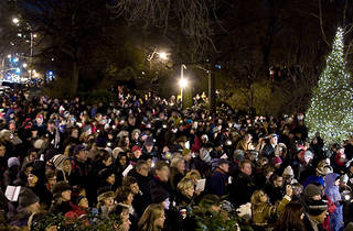 Carl Schurz Park Holiday Tree Lighting