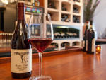 Friedrich Becker pinot noir at the Tangled Vine