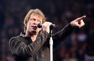 Bon Jovi at Madison Square Garden, February 2011