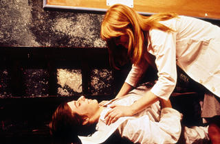 John Moulder-Brown and Jane Asher in Deep End