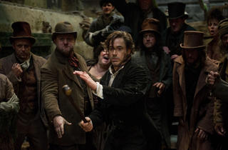 Robert Downey Jr. in Sherlock Holmes: A Game of Shadows