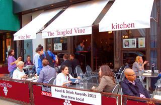 (Photograph: Courtesy Tangled Vine Wine Bar & Kitchen)