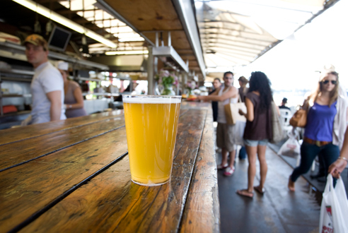 Soak up suds and sun at the Frying Pan