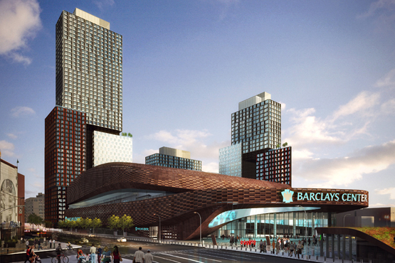 Check out the Barclays Center