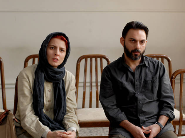 Leila Hatami and Peyman Moaadi in A Separation