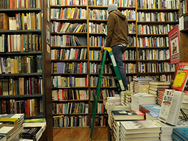 """Okay, this might sound lame, but seriously: the Strand [828 Broadway at 12th St; 212-473-1452, strandbooks.com]. It's really easy to strike up a..."