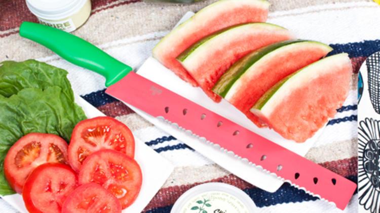 Kuhn Rikon watermelon knife