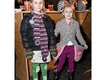 Lucy Bryce, 7; second-grader; Williamsburg, Brooklyn; and Gigi Bryce, 5; kindergartener; Williamsburg, Brooklyn