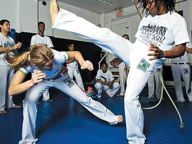 Try capoeira at The Ailey