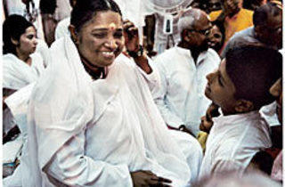 SISTER OF MERCY Amma exudes love.