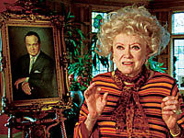 HAIRPIN TURN Phyllis Diller remembers the electric cars of yore.