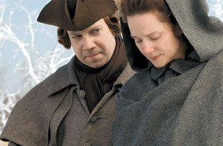 NEW ENGLAND PATRIOTS Giamatti and Linney struggle to balance marriage and duty as John and Abigail Adams.