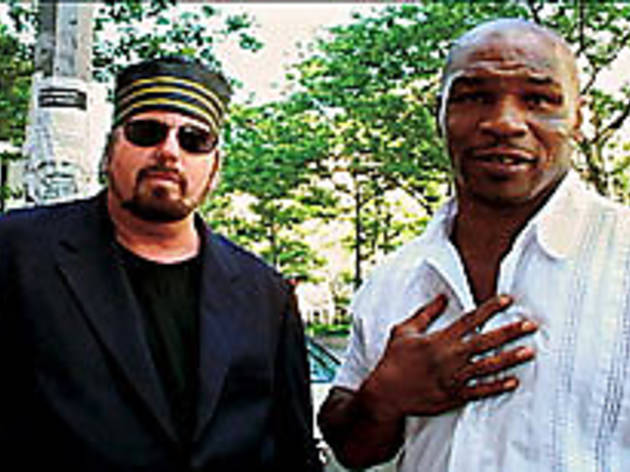 A LOVER AND A FIGHTER Toback, left, and Tyson express mutual admiration.