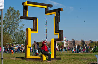 Socrates Sculpture Park (Photograph: Paul Wagtouicz)