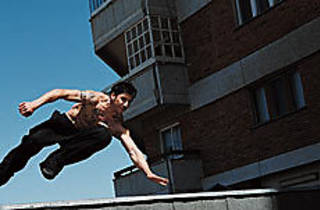 LEAP GAUL BUILDINGS IN A SINGLE BOUND! Belle's action heroics defy gravity.