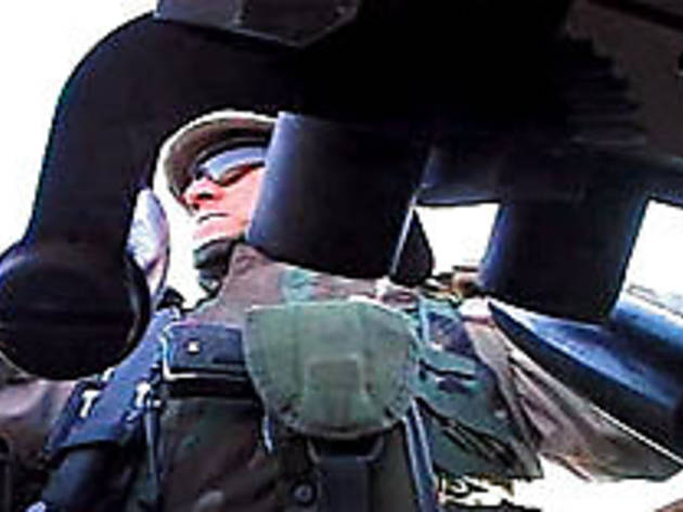 REFLECTIONS IN A GLASS EYE Guardsman Mike Moriarity serves, protects, shoots a video diary.