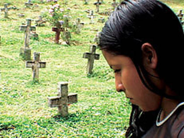 GRAVE THOUGHTS Colombians suffer endless violence.