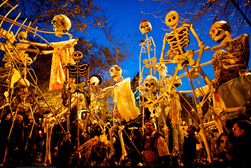 Halloween events in NYC