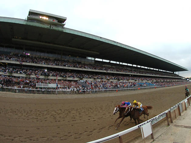 Place a wager at Belmont Park