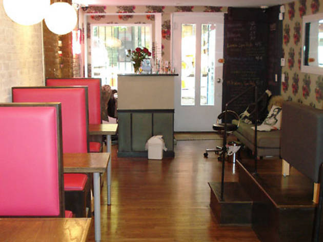 Blush Nail Lounge: Spa manicure and milk-and-honey pedicure