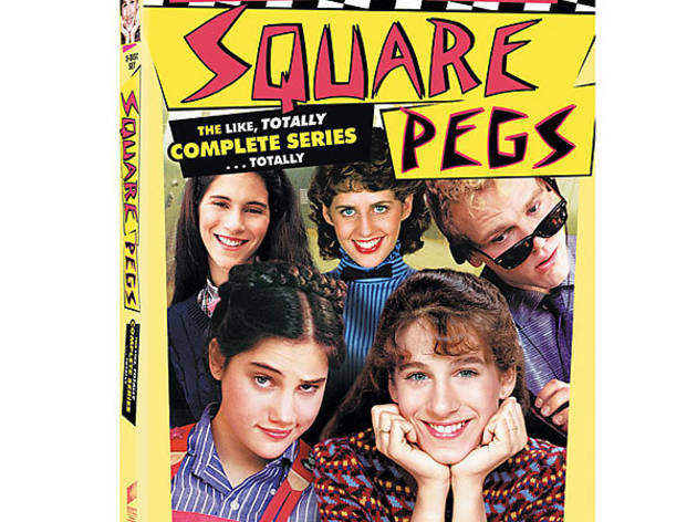 Square Pegs: The Like, Totally Complete Series